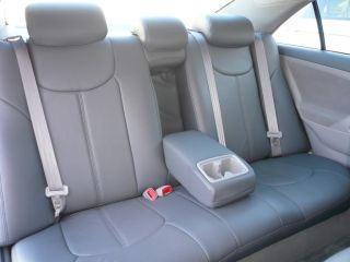 2011 Toyota Camry Leather Seat Covers Full Cover Set