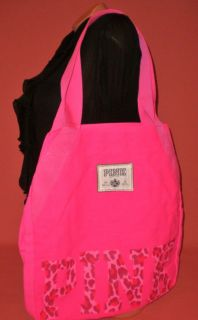 Victoria Secret LOVE PINK Tote Bag Pink New