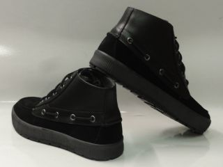 Polo Ralph Lauren Delmont Black Shoes Mens Size 12