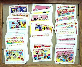 1991 Disney Minnie Me Trading Card Set 160 Cards