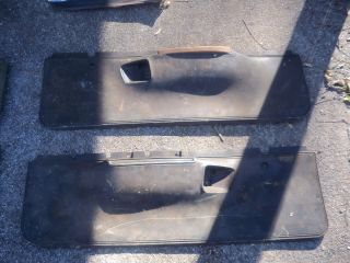 Dodge Charger 1973 or 1974 Door Panels Originals Good Condition