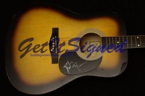 Dierks Bentley Signed Acoustic Guitar Autograph Autographed