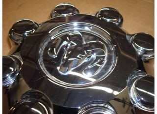 Dodge RAM 2500 3500 Center Cap Wheel Hub 8 Lug 03 11 Cover Rim Chrome
