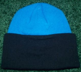 Detroit Lions NFL Licensed Reebok Blue Black Two Toned Cuffed Knit Hat