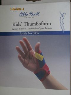 Otto Bock Medical Kids Thumboform Thumb Support Brace 3036