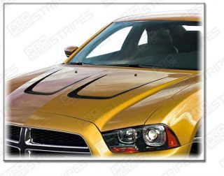 Dodge Charger 2011 Hood Accent Stripe Decal Kit Styles