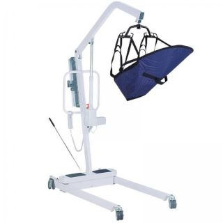 Drive Medical Heavy Duty Electric Patient Lift with 6 Point Cradle