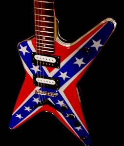 Dimebag Darrell Dime Art Guitar by El Daga Rich Performance Art RARE
