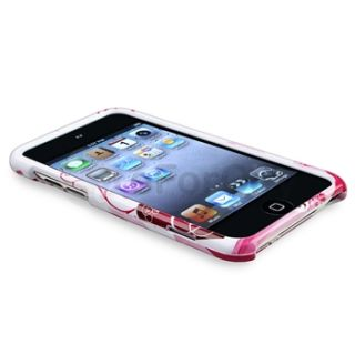 9x Design Rubber Hard Plastic Case Covers for iPod Touch 4th