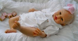 Ashton Drake 21 Silicone Baby Doll, Lily Rose by Michelle Fagan, So