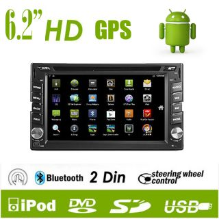Din Car DVD Player GPS Navigation Android 3D 3G WIFI Touch Screen