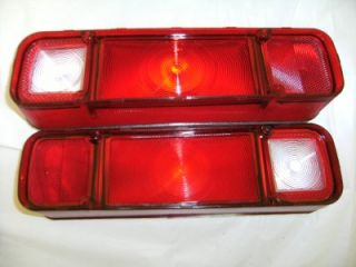 1970 70 dodge dart tail light lens pair new