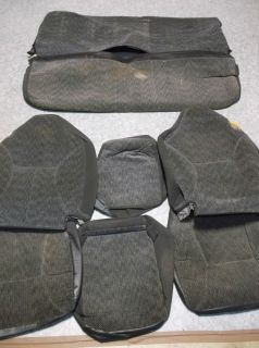 Seat Covers Dodge RAM 1500 2500 1998 2001 Genuine Dodge Parts RARE