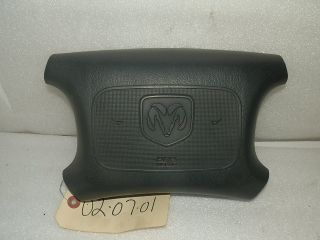 1998 1999 2000 DODGE RAM DAKOTA PICKUP VAN DURANGO DRIVERS SIDE AIRBAG