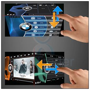 Car DVD Player GPS Navigation Radio Stereo System for BMW 5 Series E39