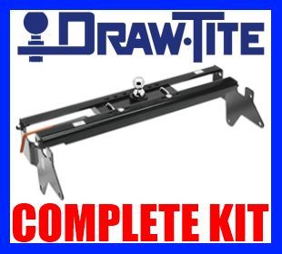 Draw Tite Gooseneck Hitch Chevy GMC 2500HD 3500 2011