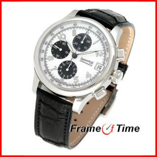 Eberhard Co Traversetolo Chronographe Automatic Black 31051 2STR Watch
