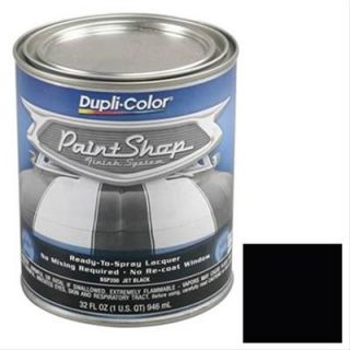 Dupli Color BSP200 Paint, Paint Shop Finish, Lacquer, Gloss, Jet Black