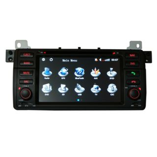In Dash Car DVD Player GPS Navigation Radio System for BMW 3 Series M3