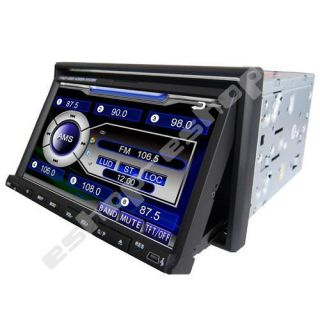 LCD 2 DIN Dash Car DVD Player Video AVI MP4 DIVX Bluetooth Audio