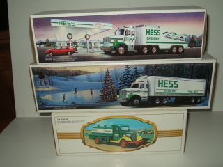 HESS 1980 1987 1988 First Hess Truck Truck and Racer and Toy Truck