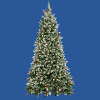 pre lit frosted edina fir berries christmas tree