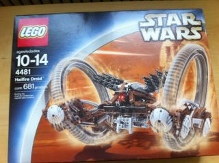 LEGO Star Wars 4481 HAILFIRE DROID 681 pcs Sealed NEW Never Opened