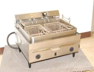 star 30 lb countertop electric fryer used star 30 lb
