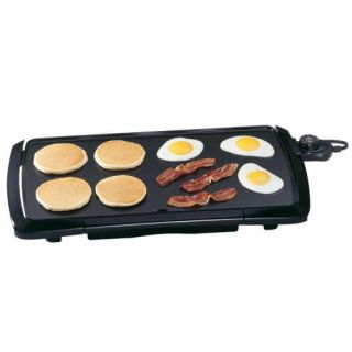 Presto 07030 Cool Touch 20 inch Electric Griddle Black