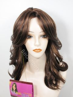 Pure Stretch Cap Side Z Z Skin Long Flip Full Wig Eden
