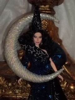 CHER DOLL RE DONE AND DRESSED AS THE MOON GODDESS