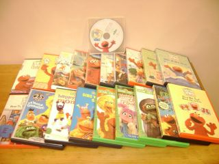 Lot 20 ELMO DVD Summer Vacation Babies Dogs & More, Sesame Street 25th