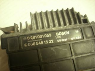 1987 Mercedes Benz Diesel Engine Control Unit ECU MB 0281001059