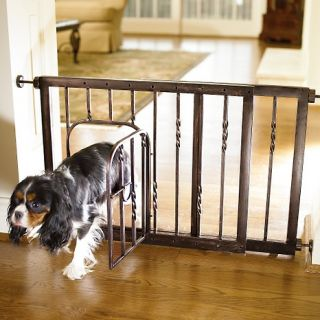 Pet & Dog Gates Bronze 21 in H Expanding Pet Gate   Small (28 41W