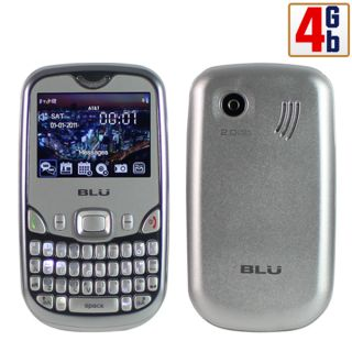 Blu Samba Elite Q200E 4GB Silver Unlocked at T T Mobile