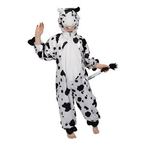 Cow Kids Farm Animal Fancy Dress Child Boys Girls Costume Outfit 3 11