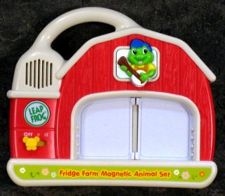 LeapFrog Fridge Farm Farmer Tad Replacement Animals Head or Tail Your