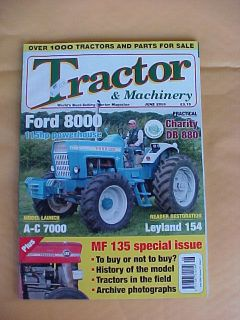 TRACTOR & MACHINERY MAGAZINE JUNE 2009 FARM EQUIPMENT RESTORATION FORD