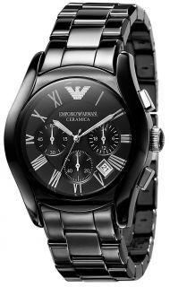 emporio armani chrono ceramic womens watch ar1401