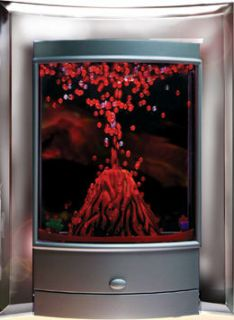 Volcano Eruption Glowing Lava Lamp Light Undersea Fascinations