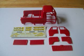 Little Red Wagon Parts Lot Decals