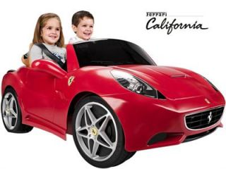 New Feber Ferrari California 12V Car Ride on Kids Toy Car Battery