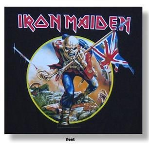 Iron Maiden Somewhere Back in Time Tour Trooper T Shirt