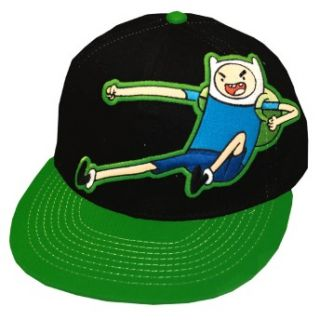 Time Finn Kick Slamacow Cartoon Adult Snapback Flat Bill Hat Cap