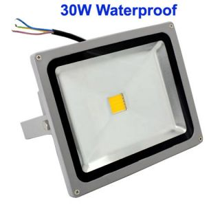 30W LED Flood Light High Power Waterproof Outdoor Projection Lamp