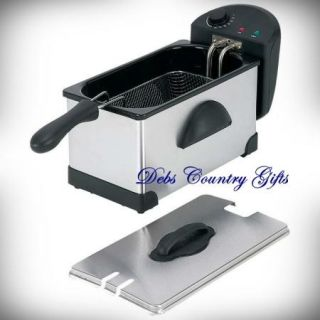 Electric Deep Fryer 3qt with Basket and 5 yr Warranty Included