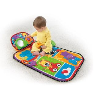 Fisher Price Brilliant Basics Musical Tummy Playmat New V9198
