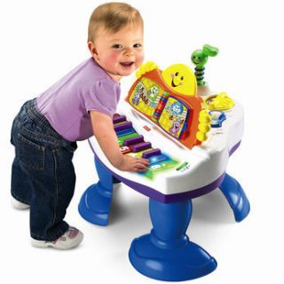 New Fisher Price Laugh Learn Baby Grand Piano