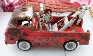 Nylint 1963 Ford Econoline American Wrecker Tow Truck For Parts Or