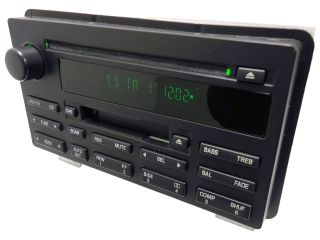 03 04 05 06 07 Ford Expedition Radio Tape CD Disc Player RDS Stereo
